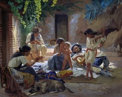 20131220183740-pintura-de-una-familia-gitana-espanola-sorokin-spanish-romani-people.jpg